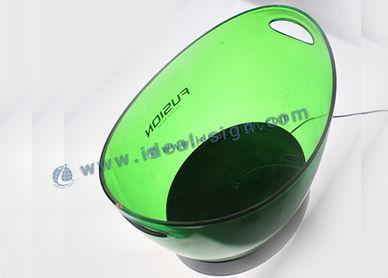 baldes de gelo cerveja balde de gelo balde de gelo de vidro balde de gelo conduzido balde de gelo grande Cubas de gelo LED banheira de festa banheira plástica festa balde de gelo para o vinho balde de gelo com luzes LED