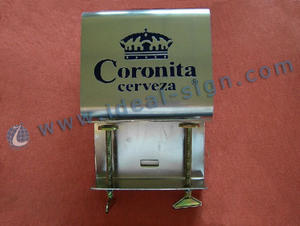 Stainless Steel Bar Top abridor de garrafas