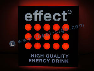 China manufacturing of light up indoor bar signs custom illuminated beer signs