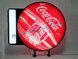 Vacuum costume Formado Entrar Coca Cola Led Sign