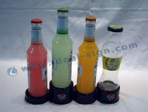 Semplicemente design esposizione della bottiglia di plastica