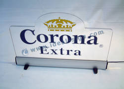 Corona Extra Acryl LED-Zeichen-Display / SLIM LED Light Box-Zeichen