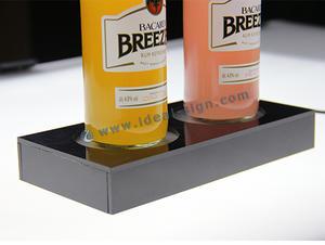 Visualizzazione Bottiglia LED opzionale con luce LED