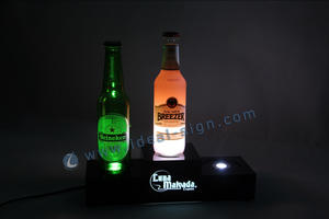 Display bottiglia acrilico OEM / ODM LED