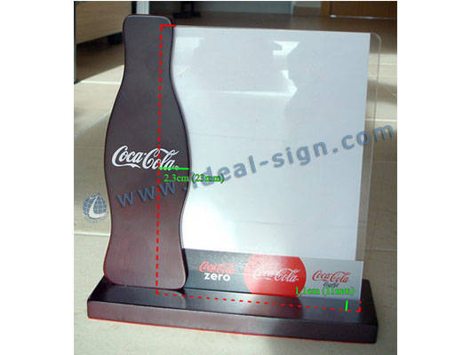 menu holder