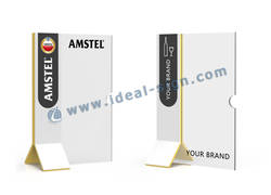 Amstel Acrylic Menu Stand / Acrylic Menu Display