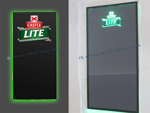 Displays iluminados Escrevendo Sinais do Menu Board
