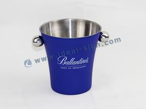 Inoxidável balde de gelo de aço / grande balde de gelo banheira / partido