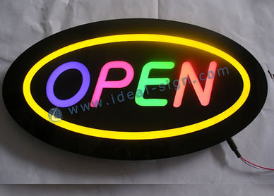 custom indoor resin sign