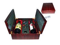 Multifunzione di vino di legno Imballaggio Scatola compresa l'ubicazione Cavatappi