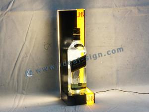 JB LED bottiglia del liquore mensola di esposizione glorificatore