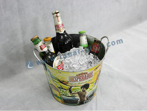 Big Storage Tinplate Party Tub / Ice Bucket for bar / plub / Hotel