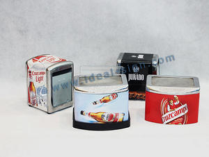 China exporter for customized tinplate napkin holder table napkin holders suplier