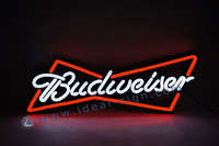 Budweiser Beer PVC LED Optical Neon Signs Circuit Board und Spritzguss-ABS-Rahmen