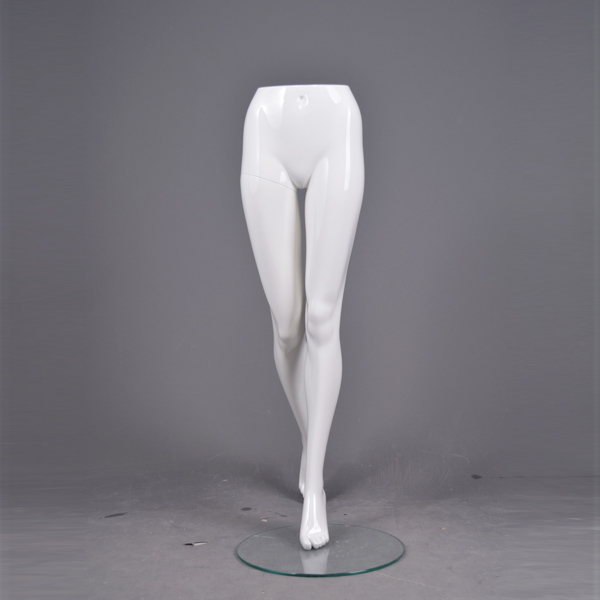 Plus size female leg foot boot mannequin shoe display stands
