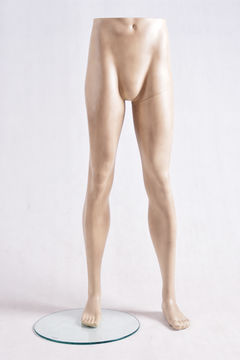 Display lower-body male jeans mannequin legs for sale
