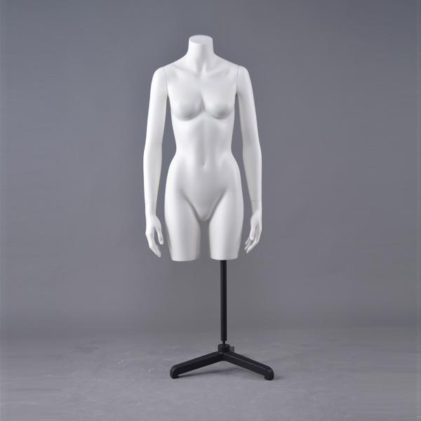 Goedkope half bovenlichaam vrouwelijke zwanger transparante mannequin sex torso