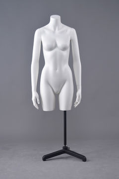 Cheap half upper body female pregnant transparent mannequin sex torso