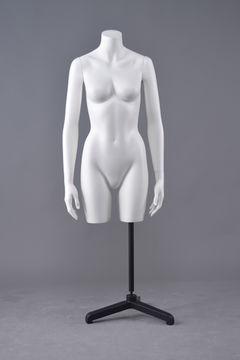 Preiswerter halber Oberkörper weiblicher schwangerer transparenter Mannequingeschlechtstorso
