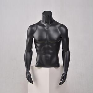 half lichaam mannelijke mannequin mislukking torso met armen