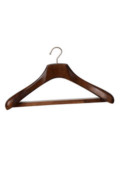 Wooden coat clothes suit hanger wholesale