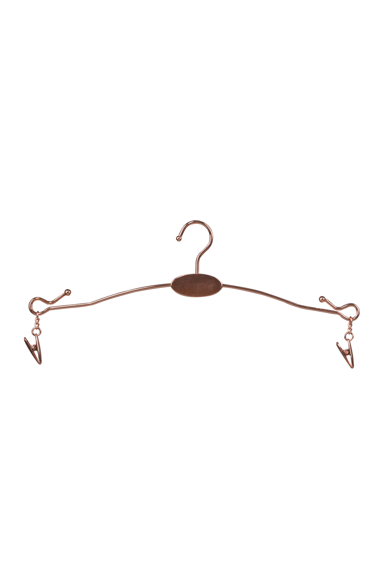 Metal wire lingerie underwear bra hanger for swimwear