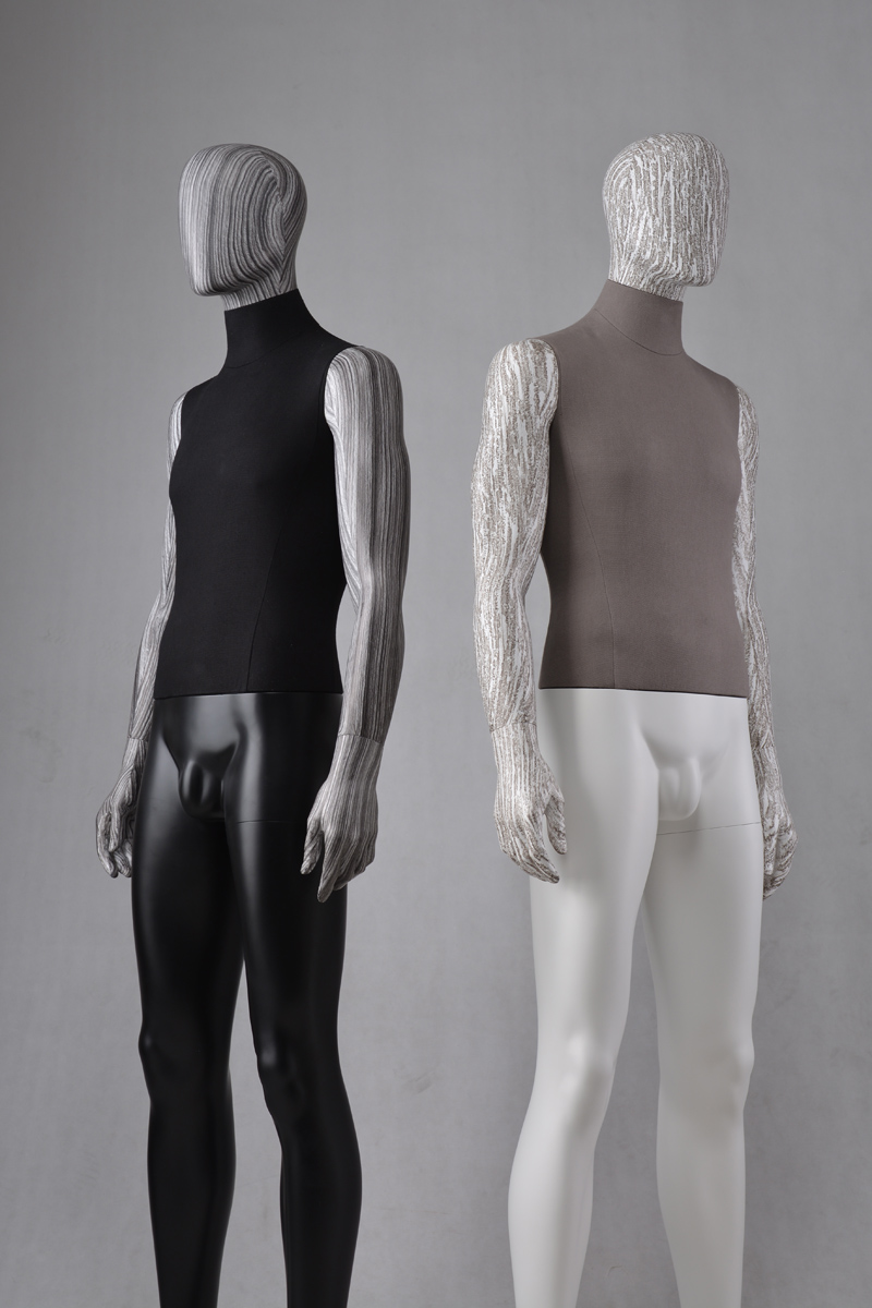 Fashion designer full body fabric mannequin male tailors men dummy model for clothes