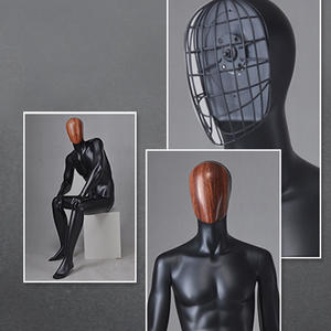 business suit black male mannequin