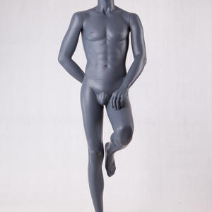 sexy muscle male mannequins with penis