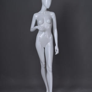 model poses standing female mannequin body