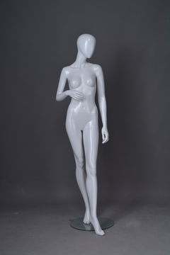 faceless egg head model poses white standing full female sex lingerie display mannequin body supplier