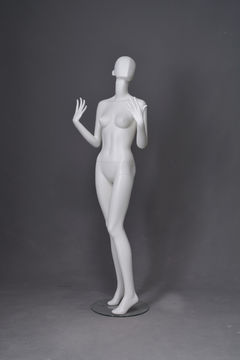 Hot sale fashion gray fiberglass abstract female swimwear display mannequin europe to decorate