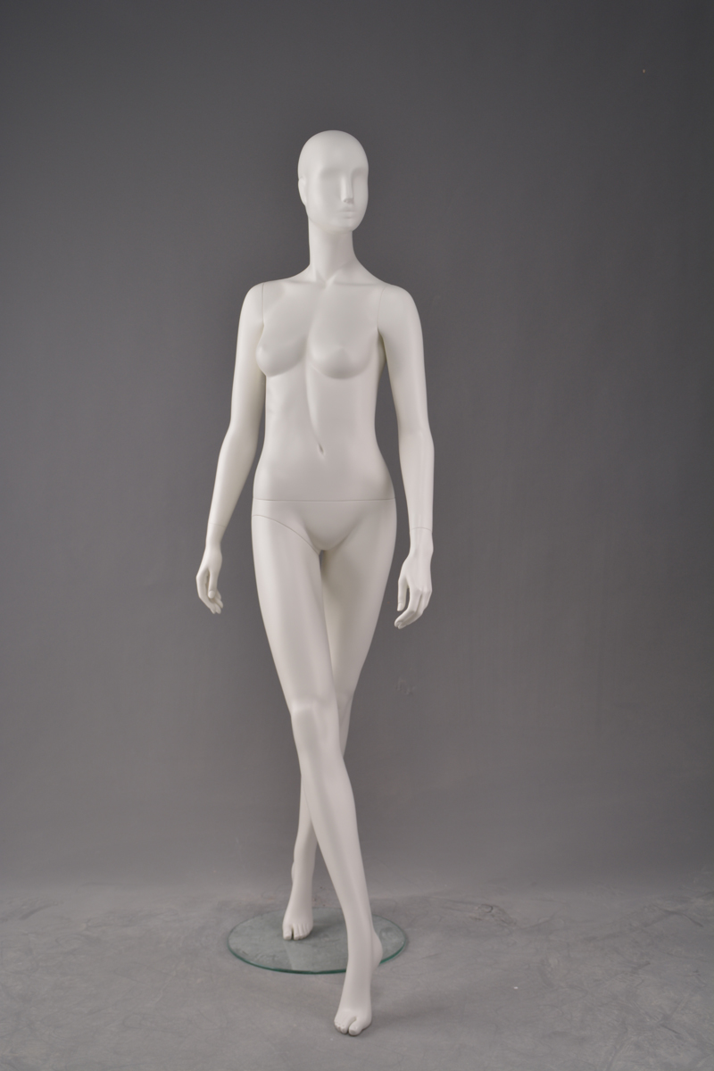 Wholesale women clothing fitting showcase dummy resin female abstract form mannequin for display