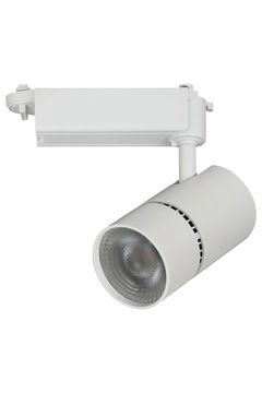 10W 18W 24W 30W cob led commercial track light housing supplier(TK051,lighting showroom)