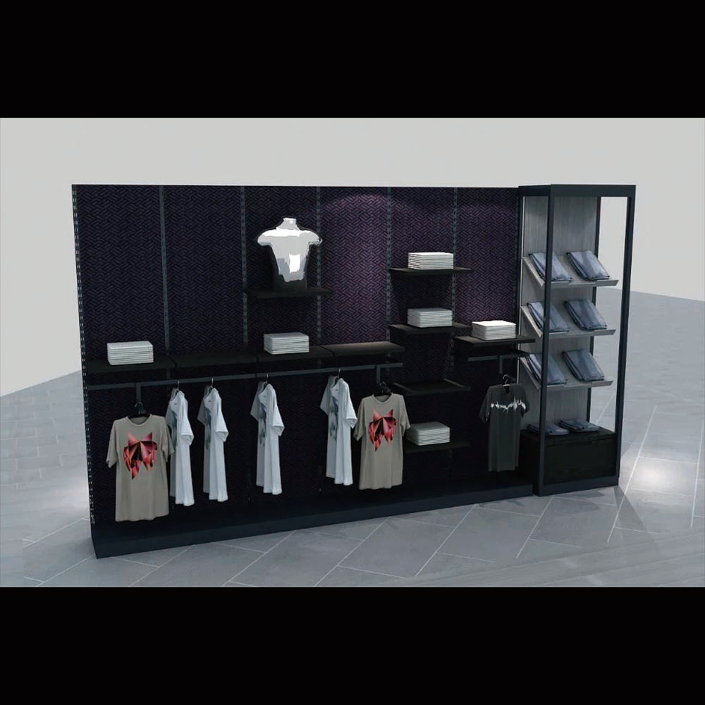 Retail wall wooden counter display case cabinets for sale(HJ-09 display units for shops)