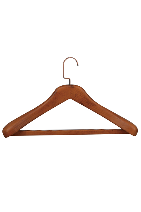 Wooden trouser hangers wholesale(YJA-4)