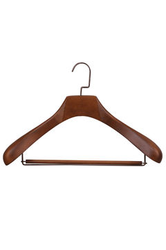 Coat hangers wooden wholesale(YJA-5)