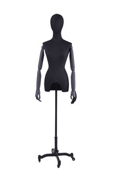 Adjustable cloth fitting body form linen tailors mannequin female for wedding dress(RNG-2,dress form display)