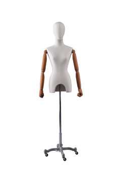 Adjustable cloth fitting body form linen tailors mannequin female for wedding dress(RNG-3,dress display mannequin)