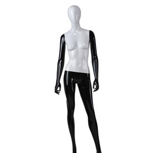 western black mannequin sitting full body,black female mannequin