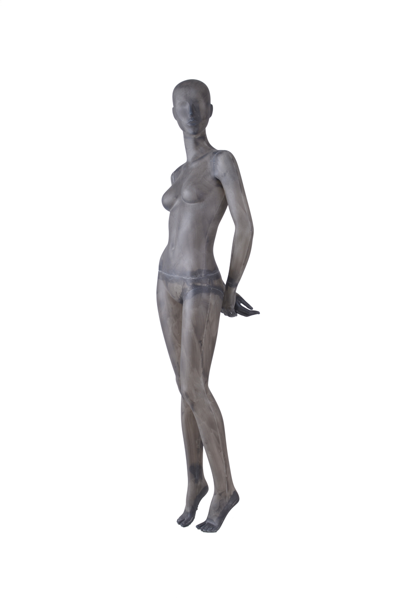 Fiber glass full body vintage beautiful abstract female posing store mannequins sale(TG-2,abstract mannequins for sale)