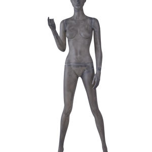 fiber glass abstract female posing mannequin,female manikin for sale