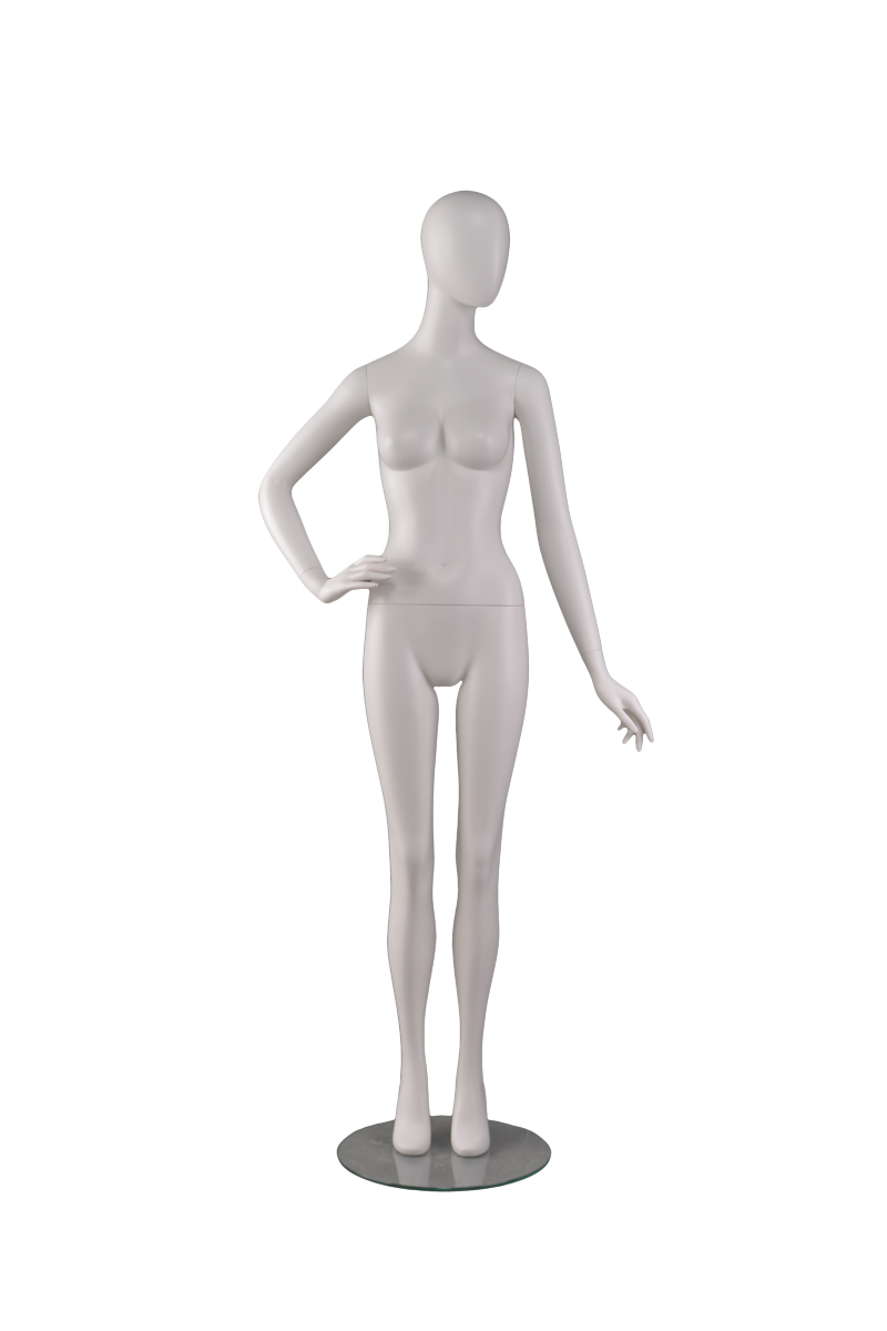 German manikin woman egg head walking female body suit mannequin display cheap in boutique stores(RNF-1,shop window mannequin)