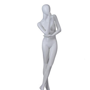 abstract glossy body mannequin for clothes,mannequin female torso