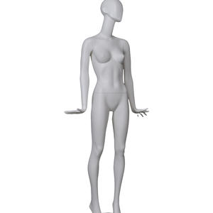 fiberglass abstract female egg head gray mannequin,fiberglass mannequin