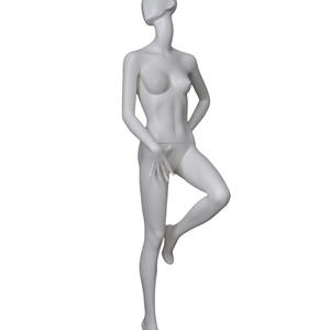 fiberglass abstract female egg head gray mannequin,decorative mannequins for sale