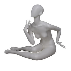 European size fiberglass Sexy Pose Female Mannequin abstract face mannequins yoga and dancing sexy pose female mannequin for display