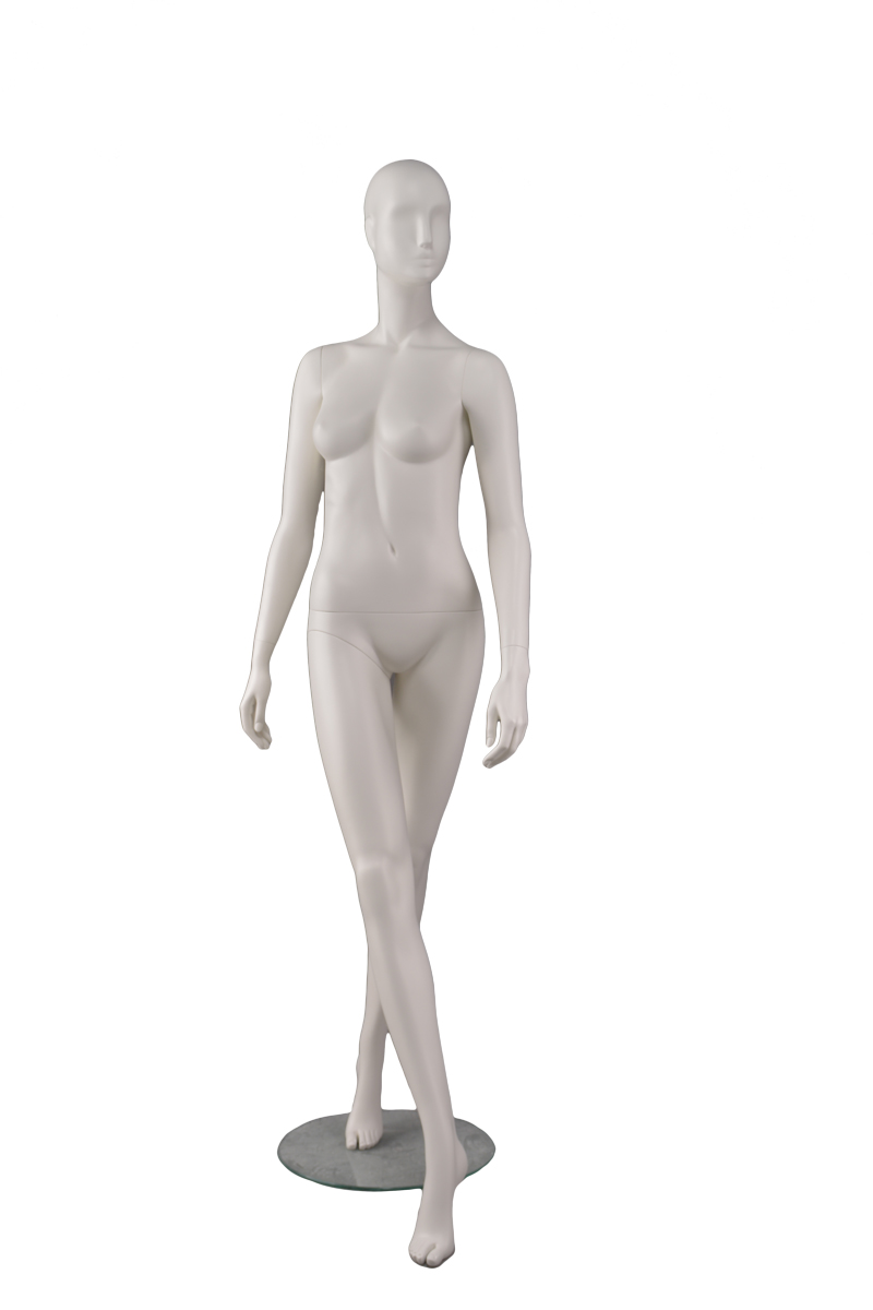 Wholesale women clothing fitting showcase dummy resin female abstract form mannequin for display(DVF-1,abstract female mannequins for sale)