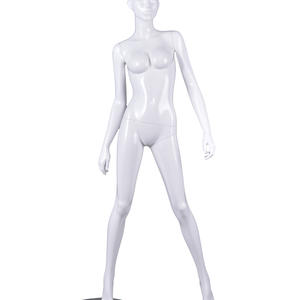 life size glossy female mannequin full body display set,white female mannequin