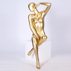 golden sexy underwear female mannequin for bra,mannequin head bust